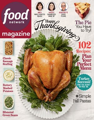 Food Network Magazine | 11/2019 Cover