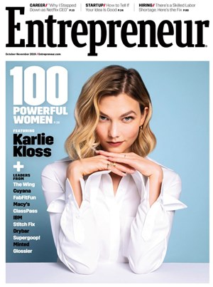 Entrepreneur Magazine | 10/2019 Cover