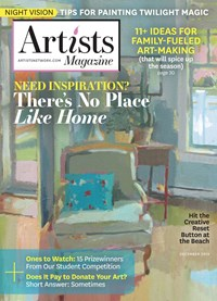 Artists Magazine | 12/2019 Cover