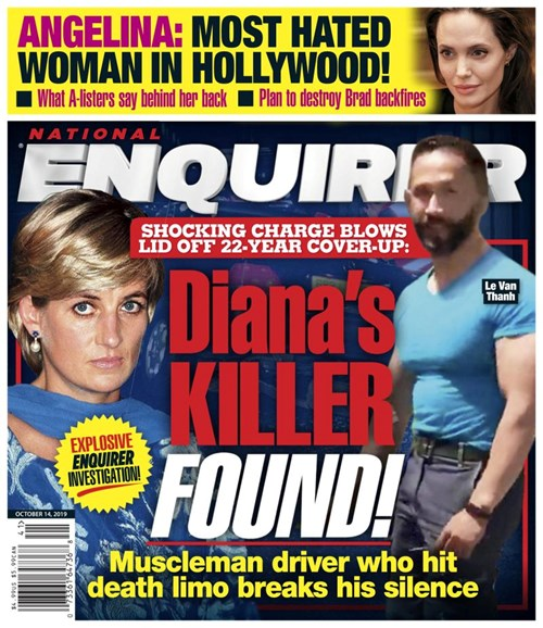 National Enquirer Cover - 10/14/2019