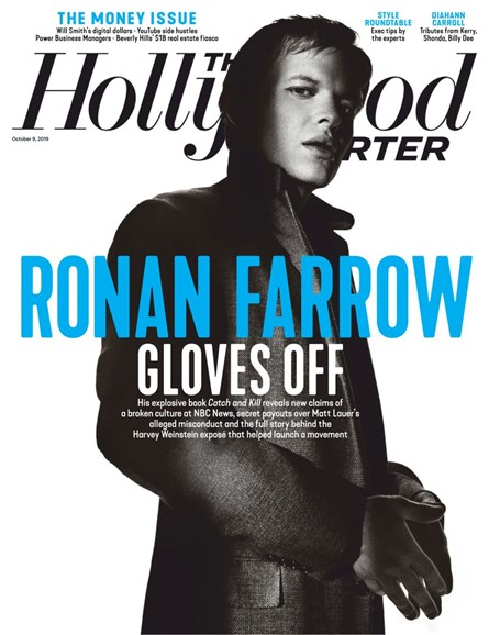 The Hollywood Reporter Cover - 10/9/2019