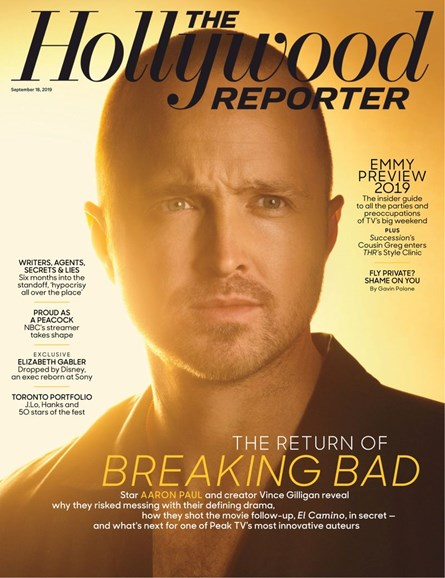 The Hollywood Reporter Cover - 9/18/2019