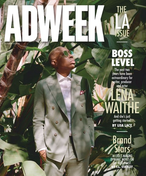 Adweek Cover - 10/14/2019