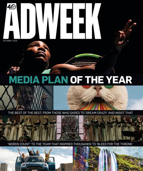 Adweek Cover - 10/7/2019