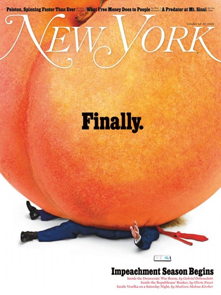 New York Magazine Cover - 10/14/2019