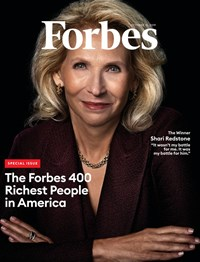 Forbes Magazine | 10/31/2019 Cover