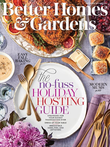Better Homes & Gardens Cover - 11/1/2019