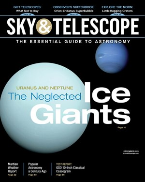 Sky & Telescope Magazine | 12/2019 Cover