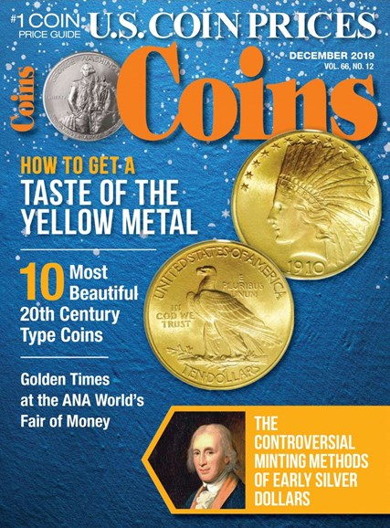 Coins Cover - 12/1/2019