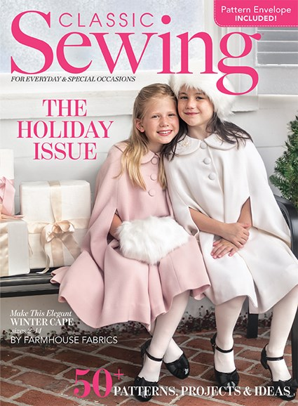 Classic Sewing Cover - 12/1/2019