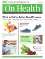 Consumer Reports On Health Magazine | 11/2019 Cover