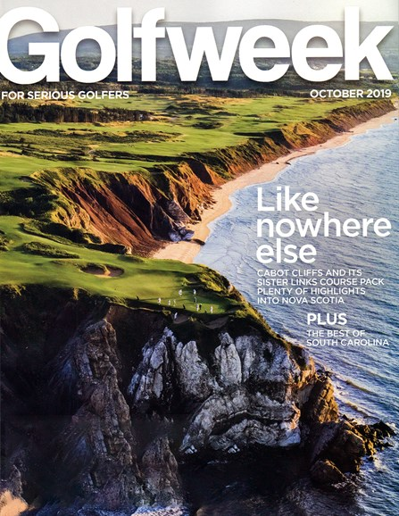 Golfweek Cover - 10/1/2019