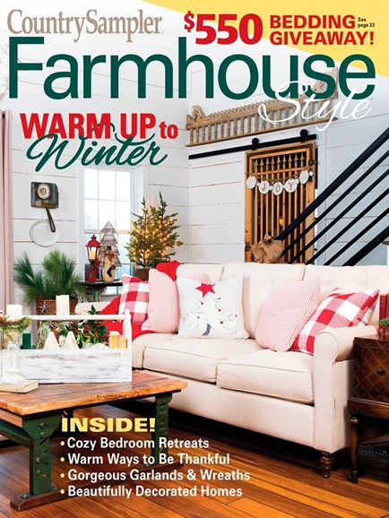 Farmhouse Style Cover - 12/1/2019