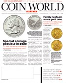 Coin World Magazine 10/21/2019