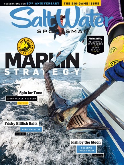 Salt Water Sportsman Cover - 11/1/2019