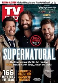TV Guide Magazine | 10/14/2019 Cover