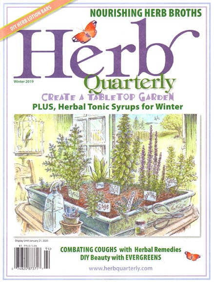 Herb Quarterly Cover - 12/1/2019