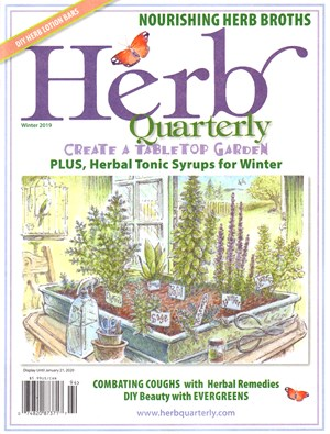 Herb Quarterly Magazine | 12/2019 Cover