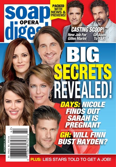 Soap Opera Digest Cover - 10/21/2019