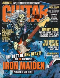 Guitar World (non-disc) Magazine   12/2019 Cover