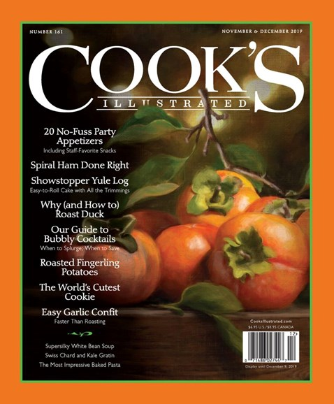 Cook's Illustrated Cover - 11/1/2019