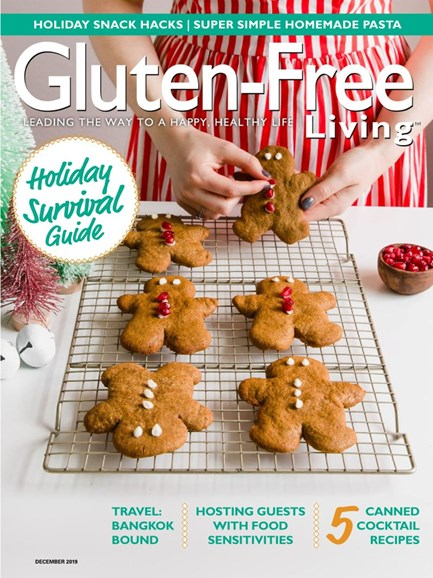 Gluten-Free Living Cover - 11/1/2019