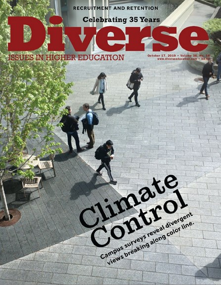 Diverse: Issues In Higher Education Cover - 10/17/2019