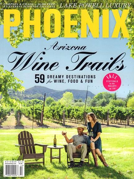 Phoenix Magazine Cover - 10/1/2019
