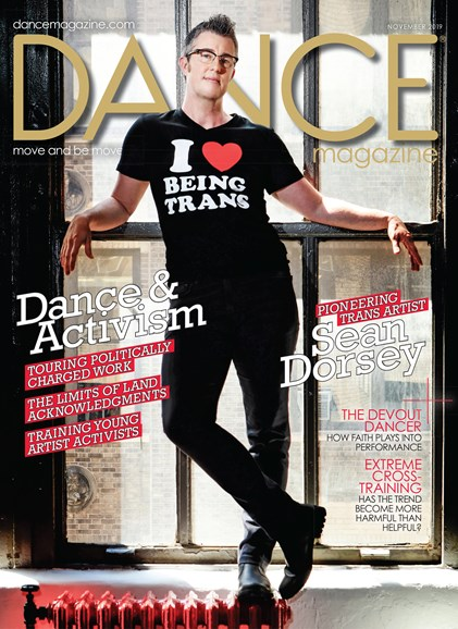 Dance Magazine Cover - 11/1/2019