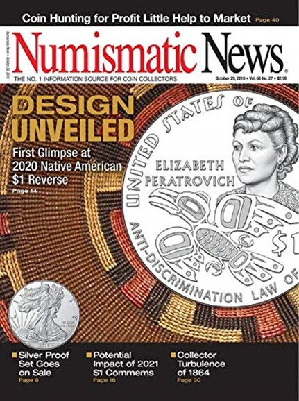 Numismatic News Cover - 10/29/2019