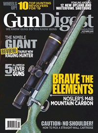 Gun Digest Magazine | 10/1/2019 Cover