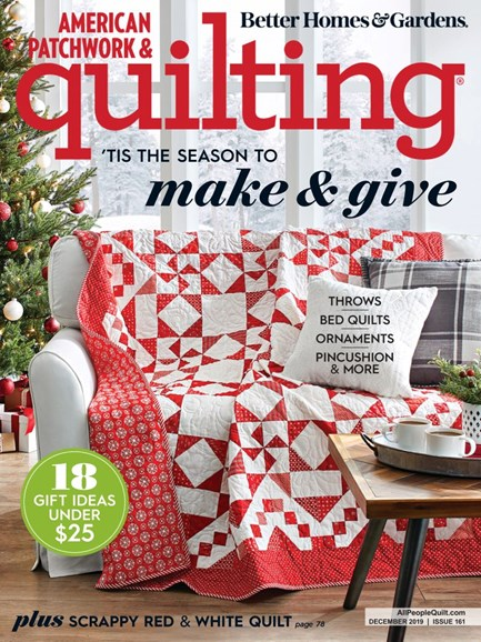 American Patchwork & Quilting Cover - 12/1/2019