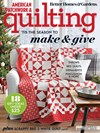 American Patchwork & Quilting Magazine   12/1/2019 Cover