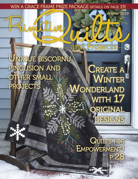Primitive Quilts & Projects Cover - 12/1/2019
