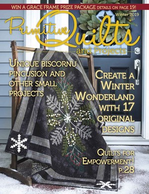 Primitive Quilts and Projects | 12/2019 Cover