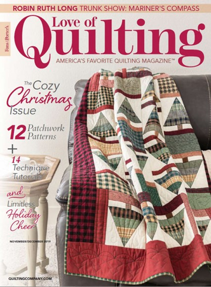 Fons & Porter's Love of Quilting Cover - 11/1/2019