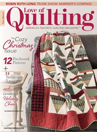 Fons & Porter's Love of Quilting | 11/2019 Cover