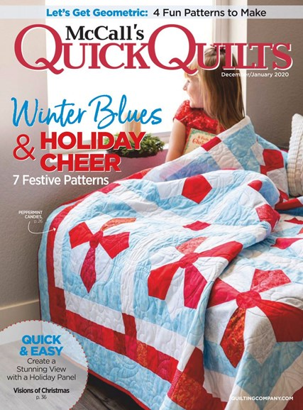 McCall's Quick Quilts Cover - 12/1/2019