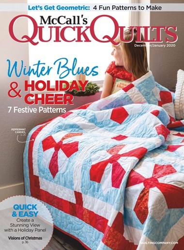 McCall's Quick Quilts | 12/2019 Cover