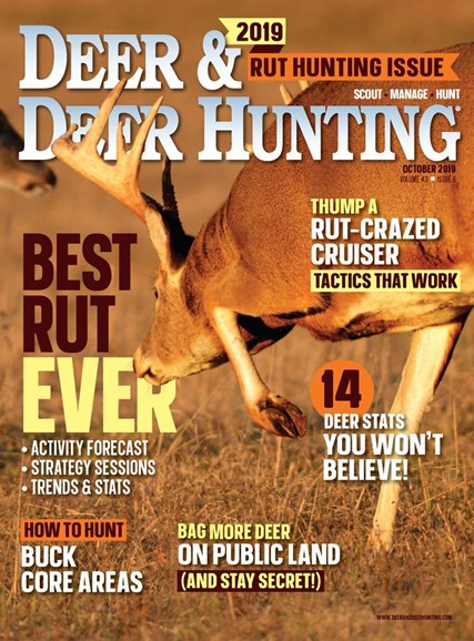 Deer & Deer Hunting Cover - 10/1/2019