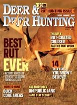 Deer & Deer Hunting | 10/2019 Cover