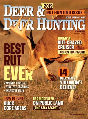 Deer & Deer Hunting Magazine | 10/2019 Cover