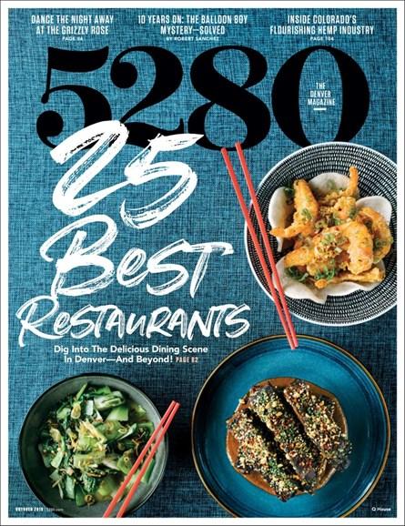 5280 Magazine Cover - 10/1/2019