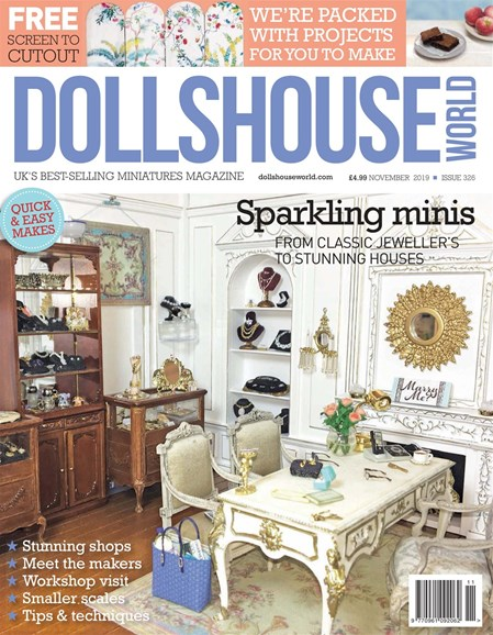 Dolls House World Cover - 11/1/2019