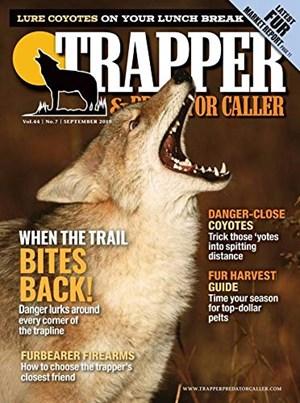 Trapper and Predator Caller Magazine | 9/2019 Cover