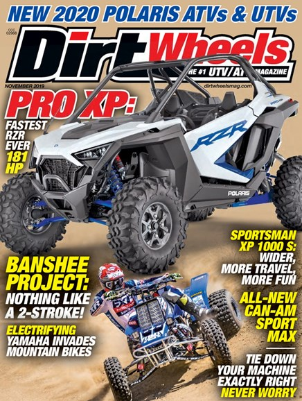 Dirt Wheels Cover - 11/1/2019