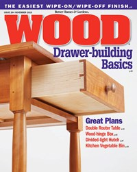 Wood Magazine | 11/1/2019 Cover
