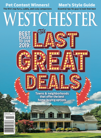 Westchester Magazine Cover - 10/1/2019