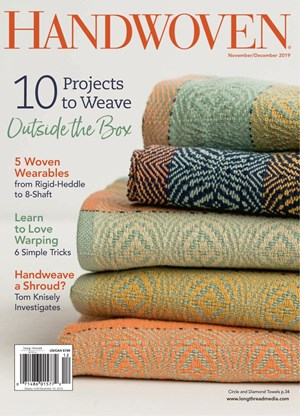 Handwoven Magazine | 11/2019 Cover