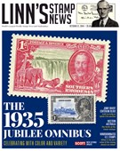 Linn's Stamp Monthly 10/21/2019